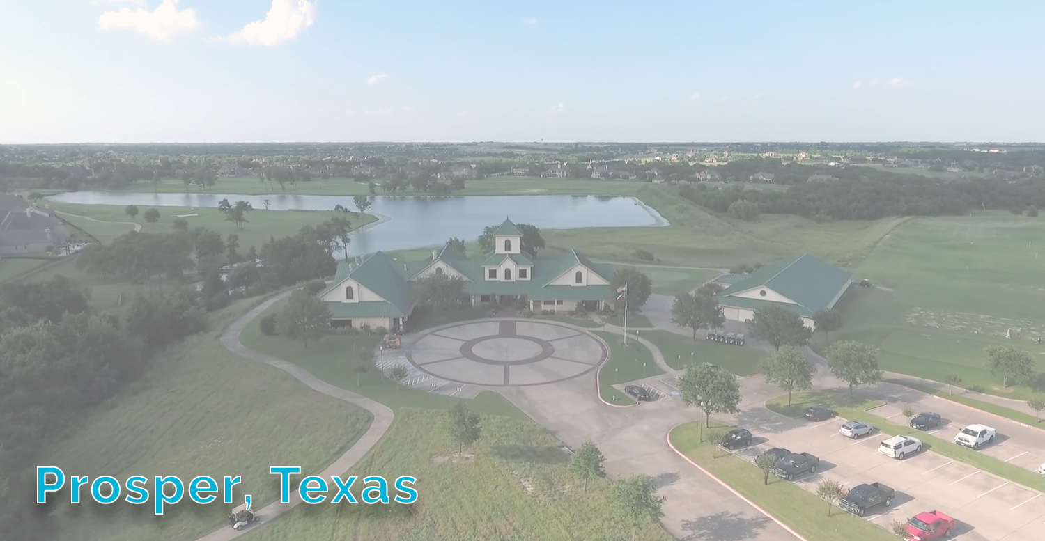 Prosper Aerial Overview