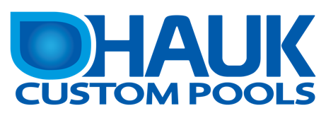 hauk custom pools logo
